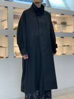 VOAAOV / oxford long coat / Black