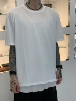 WIZZARD / BASIC PLAIN T-SHIRT / WHITE