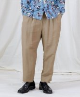 【予約商品】Iroquois / R/LI EASY CLOTH 2TUCK PT / 2月中旬発売予定 / 20年 8/17 〆切