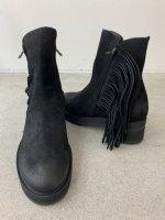 glamb / Fringe boots  / Black