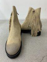 glamb / Fringe boots  / Beige