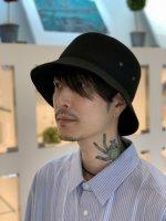 VICTIM×CA4LA / FELT BUCKET HAT / BLACK ※在庫はお問い合わせ下さい