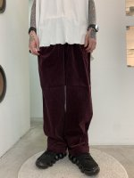 REVIVAL 90% PRODUCTS by Varde77 / 2TAC CORDUROY PANTS / WINE RED