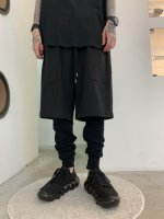 WIZZARD / LAYERED PANTS / BLACK