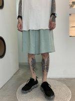 【予約商品】WIZZARD / DRAPE WIDE SHORT PANTS / 3月下旬-4月上旬発売予定 / 20年 11/1 〆切
