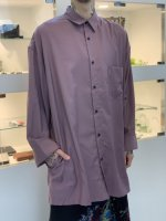SUSPEREAL / Rayon long sleeve shirts / Purple