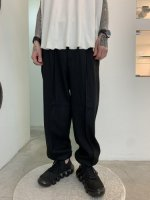 VICTIM / WIDE WOOL PANTS / BLACK