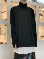 P.E.O.T.W AG / TURTLE NECK L/S / Black