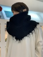 VICTIM / DAMEGE SNOOD / BLACK