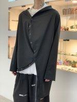 【予約商品】ANREALAGE / JERSEY BALL CARDIGUAN / Black / 12月発売予定