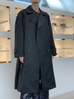 SUSPEREAL / Trench coat jacket / Black