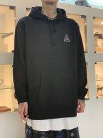 SUS / logo hoodie / Black