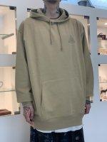 SUS / logo hoodie / Beige