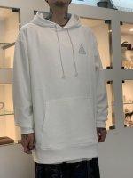SUS / logo hoodie / White