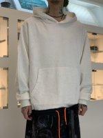 glamb / Nixon nep hoodie / White