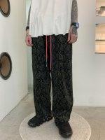 glamb / Corduroy wide pants / Paisley
