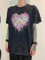 【予約商品】Varde77 / JUNKIE HEART DYED T-SHIRTS / 5月発売予定 / 20年 11/18 〆切