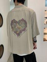 【予約商品】REVIVAL 90% PRODUCTS / JUNKIE HEART BOWLING SHIRTS 5-SLEEVE / 3月発売予定 / 20年 11/18 〆切