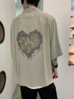 【予約商品】REVIVAL 90% PRODUCTS / JUNKIE HEART BOWLING SHIRTS 5-SLEEVE / 3月発売予定 / 20年 11/18 〆切