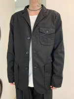 【予約商品】REVIVAL 90% PRODUCTS / 3 BUTTON POPLIN JACKET / 3月発売予定 / 20年 11/18 〆切