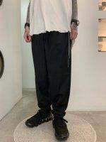 glamb / Drawcord tapered pants / Black