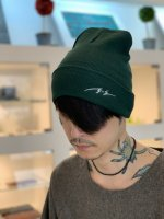 SUS / Cotton knit beanie / Green