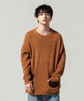 【予約商品】glamb / Fringe piping knit / 3月下旬発売予定 / 21年 1/11 〆切