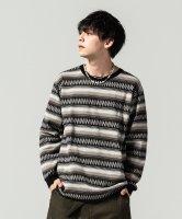 【予約商品】glamb / Ombre border knit / 3月下旬発売予定 / 21年 1/11 〆切