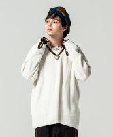 【予約商品】glamb / Thermal V-neck knit / 4月上旬発売予定 / 21年 1/11 〆切