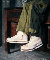 【予約商品】glamb / High cut leather sneakers / 4月上旬発売予定 / 21年 1/11 〆切
