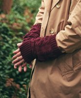 【予約商品】glamb / Knit arm warmer / 2月上旬発売予定 / 21年 1/11 〆切