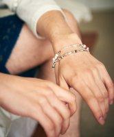 【予約商品】glamb / Silver beads bracelet / 4月下旬発売予定 / 21年 1/11 〆切
