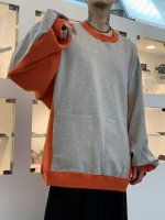 my beautiful landlet / SWITCHING URAGE SWEAT / Gray