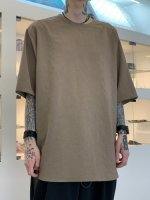 VOAAOV / NATURAL WATER REPELLENT TEE / Beige