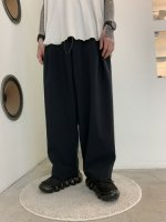 VOAAOV / NATURAL WATER REPELLENT EASY PANTS / Black
