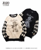 【予約商品】glamb×JOJO / Will A. Zeppeli knit / 4月上旬発売予定 / 21年 2/14 〆切