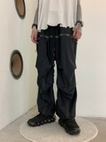 SIVA / BAGGY RIP-STOP PANTS / BLACK