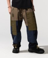 【予約商品】glamb / Multi fabric military pants / 6月上旬発売予定 / 21年 3/14 〆切