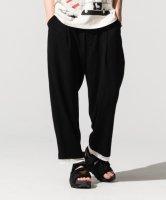 【予約商品】glamb / Fake layered wide pants / 7月下旬発売予定 / 21年 3/14 〆切
