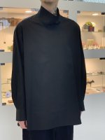 LAD MUSICIAN / BROAD CLOTH HIGH NECK SH / SUPER BLACK