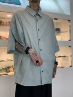my beautiful landlet / LOOSE DRESS SHORT SLEEVE SHIRT / Mint