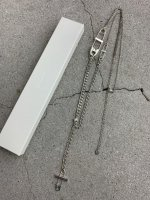 LAD MUSICIAN / NECKLACE 2 / DARK SILVER