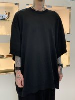 SUS / dolman cut sew shirts / Black