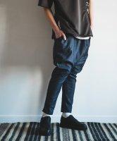 【予約商品】rehacer / Super Stretch Knit Sarouel Denim / 4月下旬発売予定 / 21年 3/14 〆切