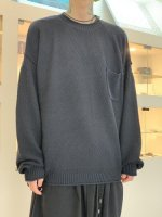 VICTIM / GANDHI KNIT / BLACK