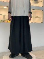 LAD MUSICIAN / 40/1 T-CLOTH HAKAMA / BLACK