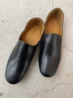 "AUTTAA / Room Shoes ii ""Smooth Kip"" / Black"