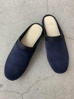 """AUTTAA / Room Shoes iii """"Back Skin"""" / Navy"""