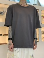 WIZZARD / BASIC PLAIN T-SHIRT / CHARCOAL