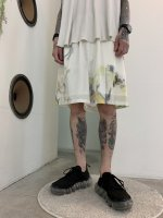 WIZZARD / PRINT LOOM SHORT PANTS / IVORY